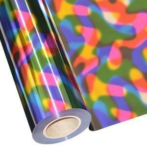 "20"" Multi Rainbow Foil HTV"