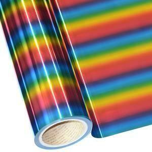 """20""""  Rainbow Foil HTV"""