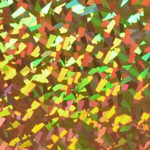 "20"" Mono Gold  Holographic HTV"
