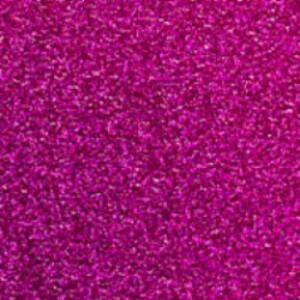 Hot Pink Glitter Reflective HTV