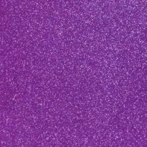 Purple Glitter Reflective HTV