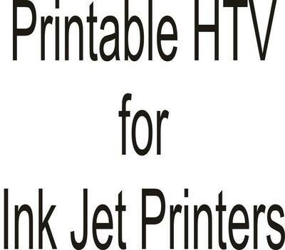 Printable HTV for Inkjet Printer