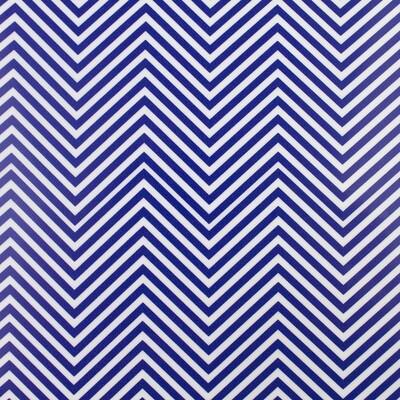 Fashion Pattern HTV -Blue Chevron