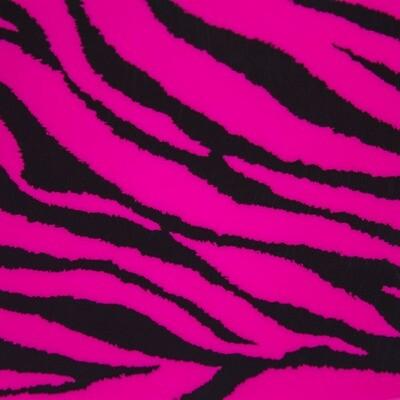 Fashion Pattern HTV - Hot Pink Zebra