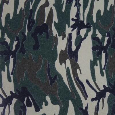 Fashion Pattern HTV -Army Camouflage