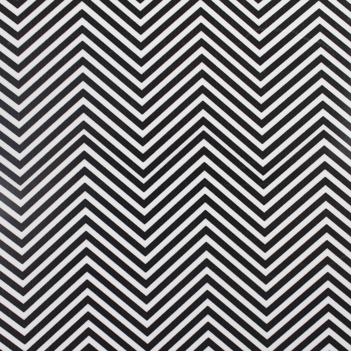 Fashion Pattern HTV -Black Chevron