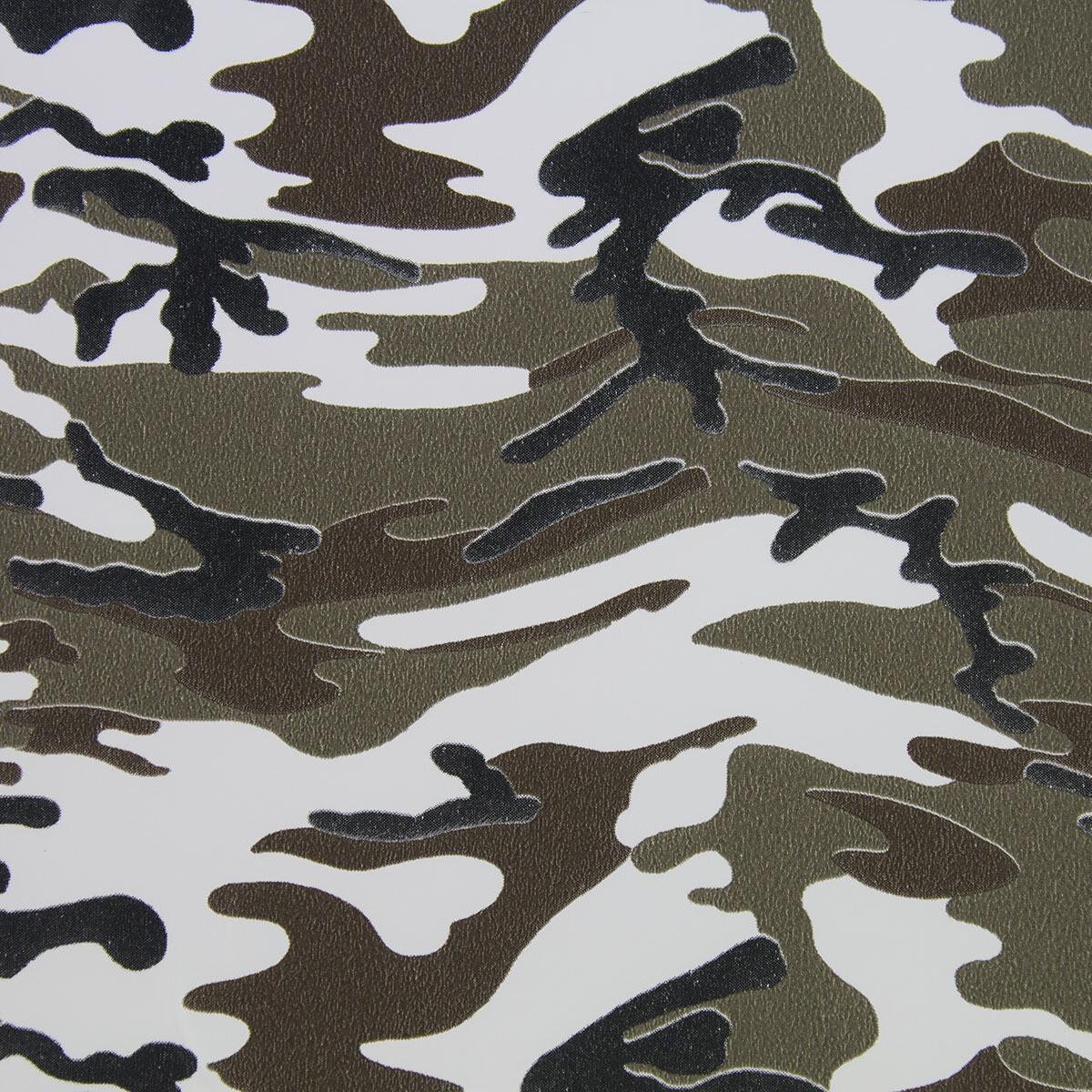 Fashion Pattern HTV -Brown Camouflage