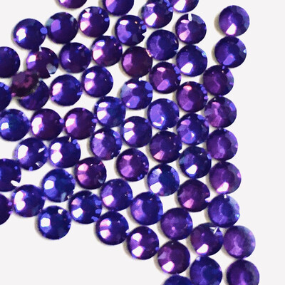 Elite Purple Hotfix Rhinestones