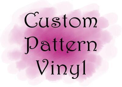 Custom Pattern Vinyl Sheet