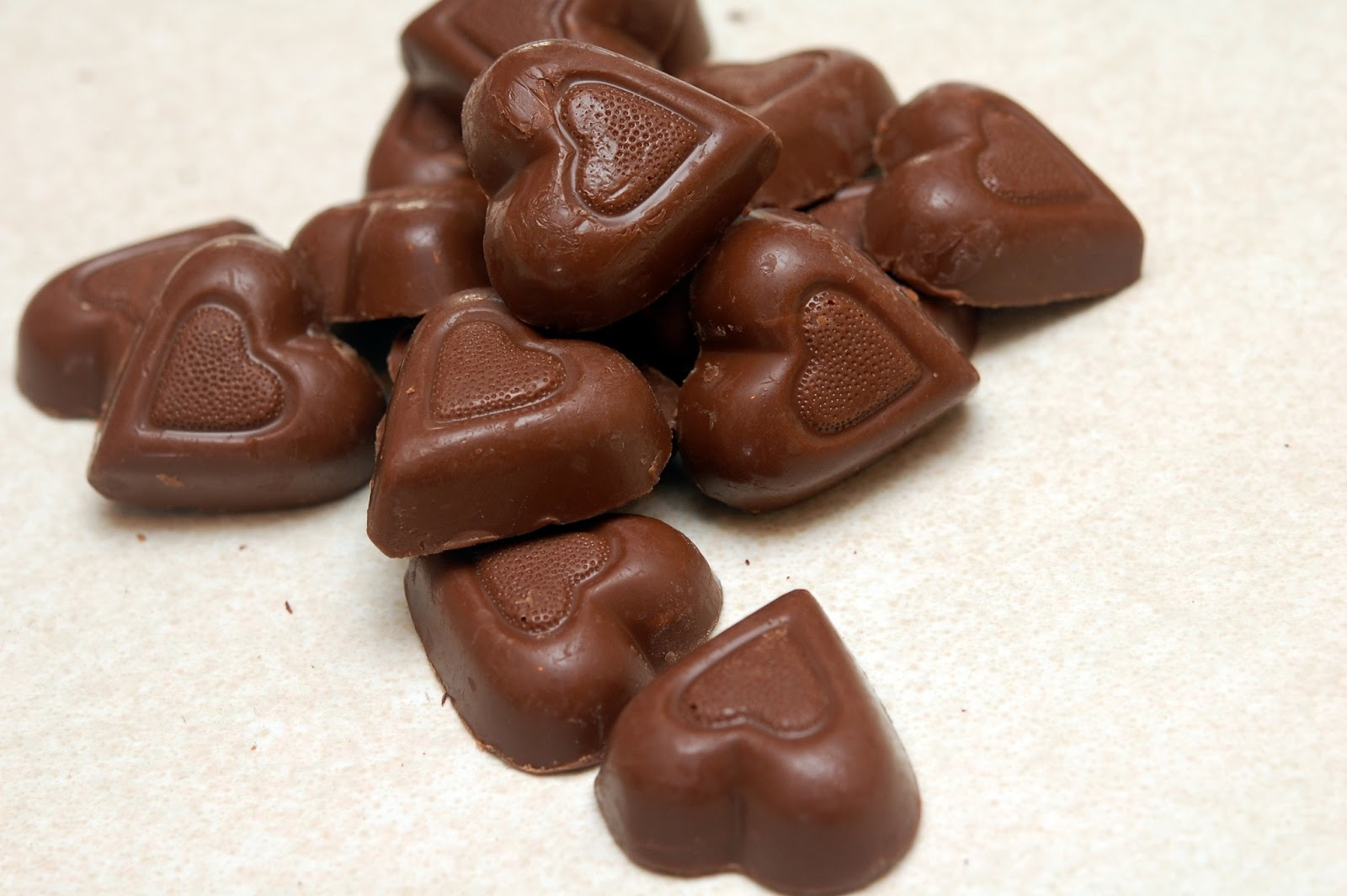 Pour in plastic molds for fun chocolate shapes and designs!