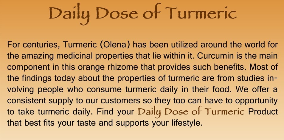 About Turmeric