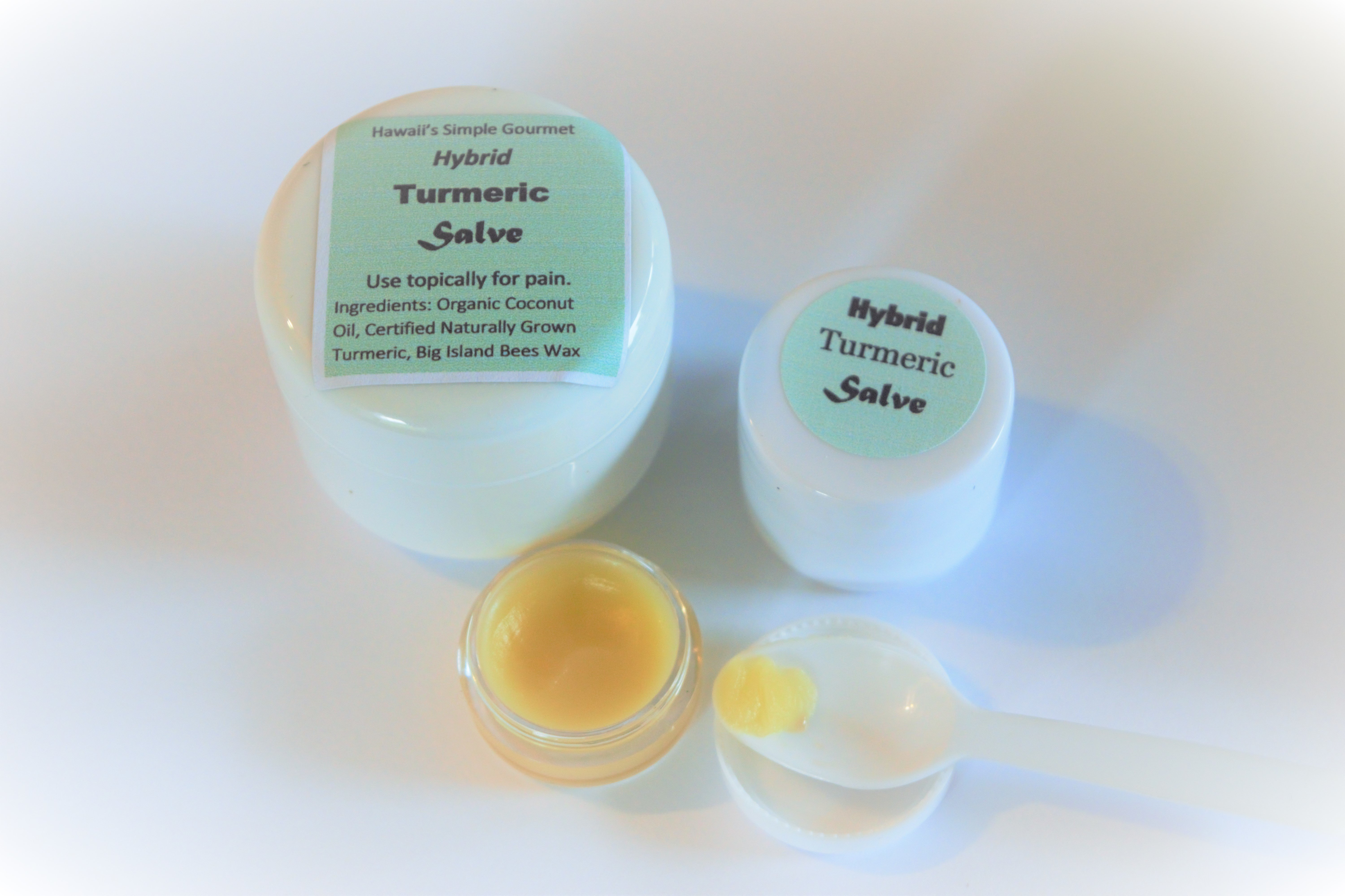 Large and Small Soft Salve