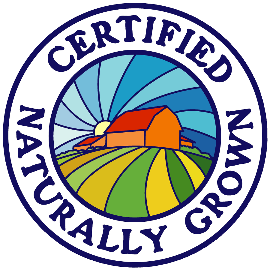 Proud to grow without chemicals and synthetic fertilizers.