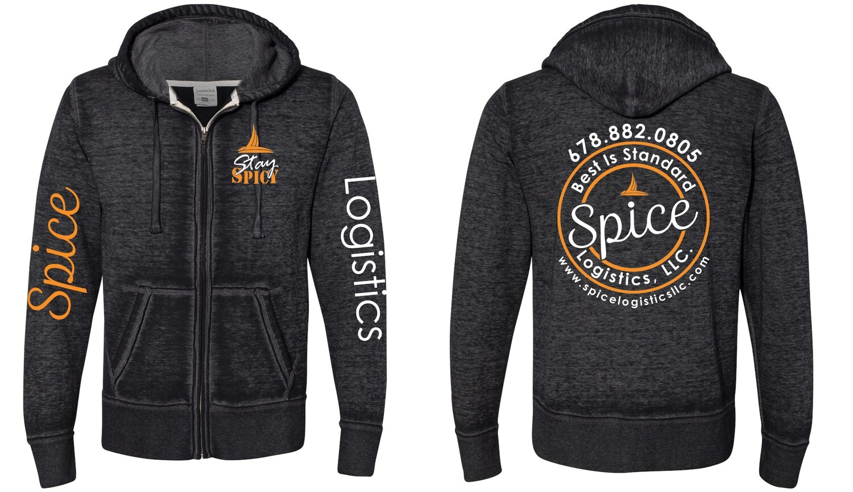 Spice Logistics Zip Hoodie