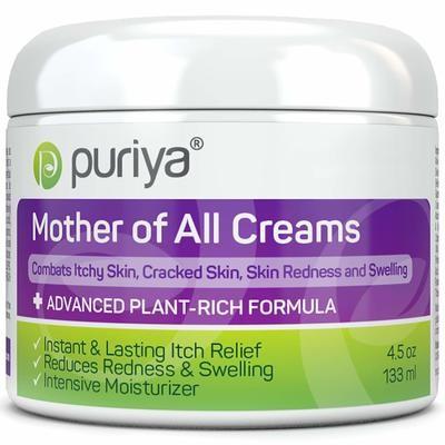 Puriya Cream for Eczema, Psoriasis, Dermatitis and Rashes 133ML