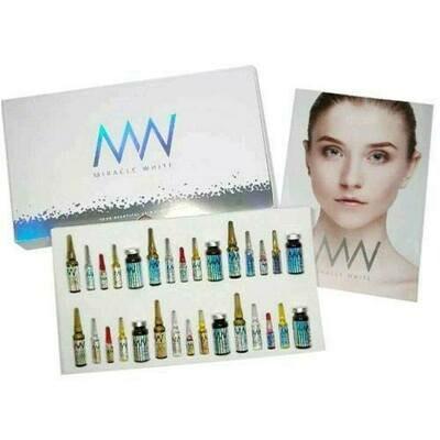 Miracle White Nano Glutathione Complete IV Drip Set x 6 vials