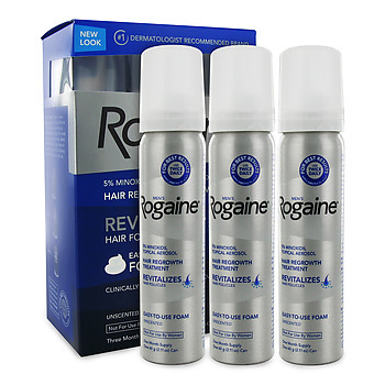 Rogaine Foam for Men 3-month supply