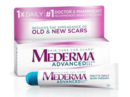 Mederma Advanced Scar Gel Scar Fading Cream for Old and New Scars 50 grams