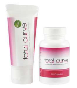Total Curve Breast Enhancement Pills and Cream 60 caps + 88 ml
