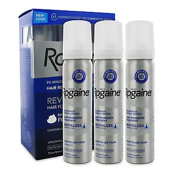 Rogaine Foam for Men 3-month supply
