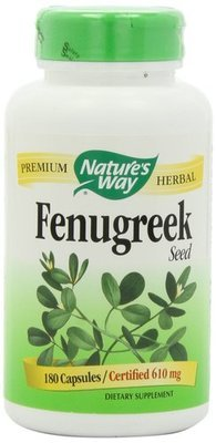 Natures Way Fenugreek Lactation Supplement 180 capsules X 610mg