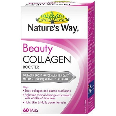 Nature's Way Beauty Collagen Booster - Support Healthy Collagen & Elastin Production, Fight Free Radical Damage, Hair, Skin and Nails Power Formula