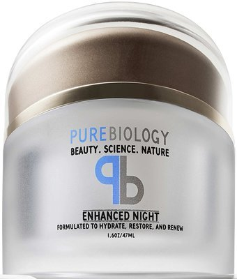 PureBiology Anti Aging Night Cream Facial Moisturizer with Pure Retinol, Hyaluronic Acid & Breakthrough Anti Wrinkle Technology – For Face & Neck (1.6 oz)