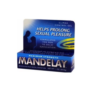 Majestic Drug Mandelay Climax Control Gel, 1 Ounce