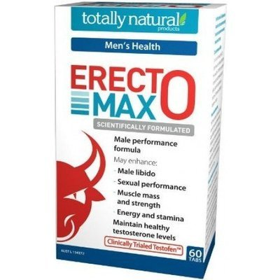 Erectomax Natural Male Perfomance and Testosterone Formula 60 capsules
