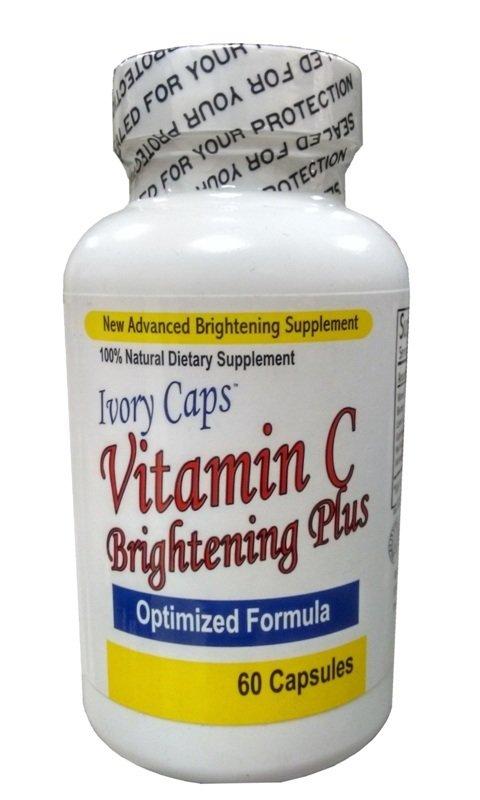 Ivory Caps Maximum Strength Vitamin C Brightening Plus 60 Capsules