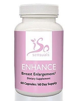 IsoSensuals ENHANCE Breast Enlargement Pills (60 Day Supply)