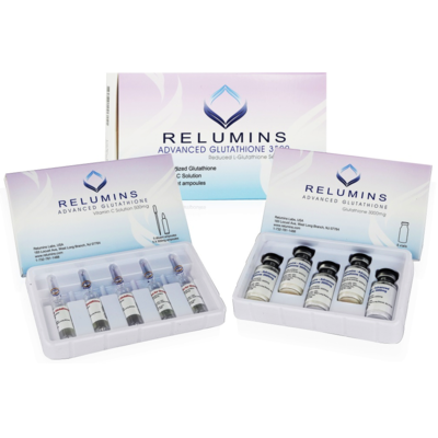 Relumins Advanced White Glutathione 3500mg IV Drip Set