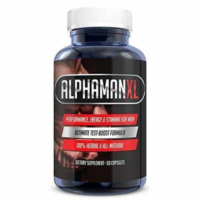 Alphaman XL Male Enhancement Pills with Yohimbe and Horny Goat Weed