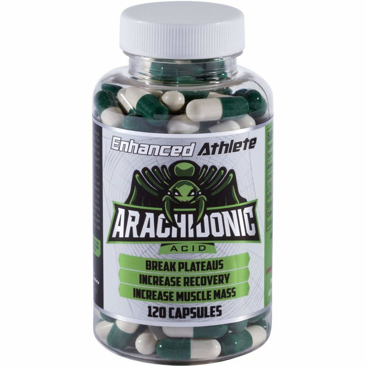 Enhanced Athlete Arachidonic Acid - Build Muscle Mass and Strength - Enhanced Muscle Recovery and Reduce Fatigue - 350mg x 120 Ct