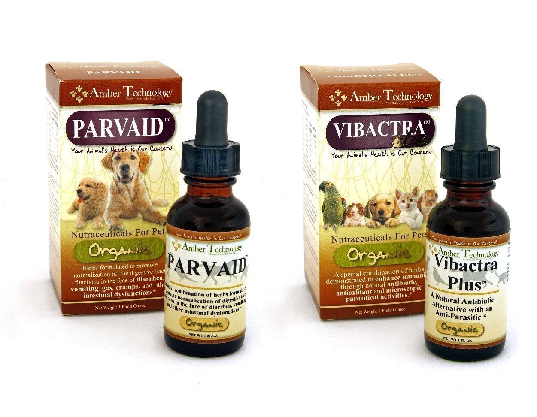 Parvaid (Paxxin) - Vibactra Plus Parvo Support Set 1 oz + 1 oz