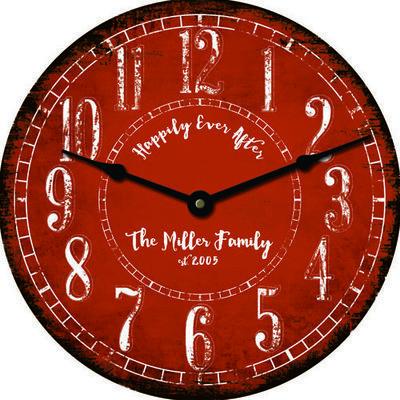 Personalized Clocks