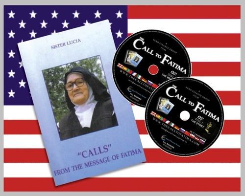 """Calls from the Message of Fatima + 2 DVDs """"The Call to Fatima"""""""