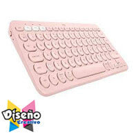 K380 Multi-Device Bluetooth Keyboard Rose