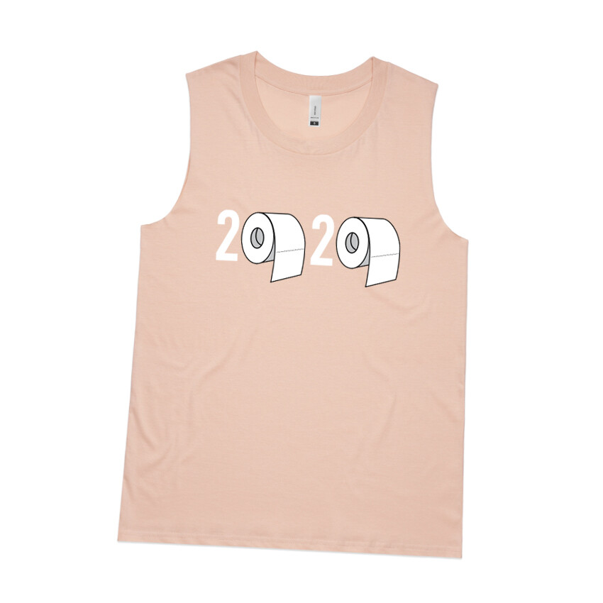 2020 Womens Tank Top Dusty Pink