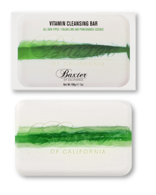 Vitamin Cleansing Bar - Italian Lime and Pomegranate