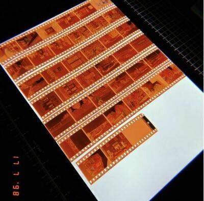 Zusatz: Digitalisierung mit Filmrand
