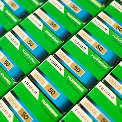 Fujifilm Velvia 50 135/36