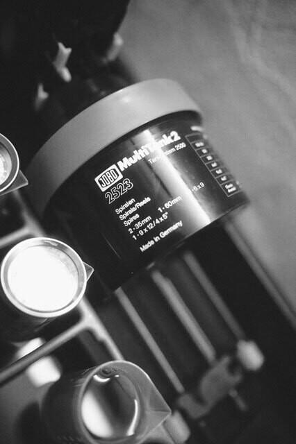 Film Processing B+W (Sheet Film 4x5)