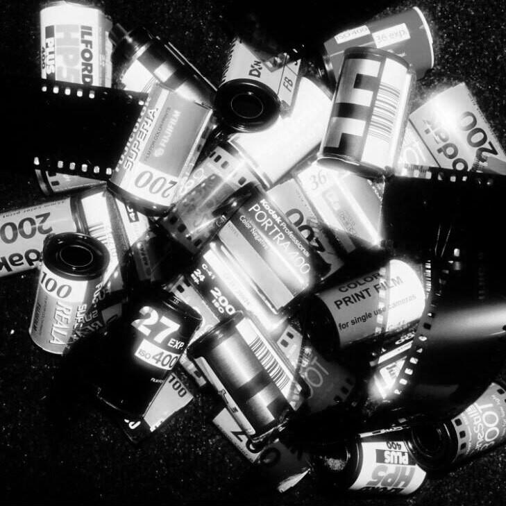 Film Processing B+W (35mm)