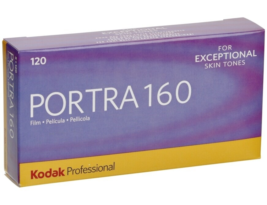 Kodak Portra 160 (120 Film)