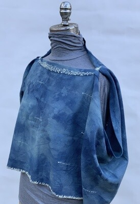 Clothing - Indigo Shrug