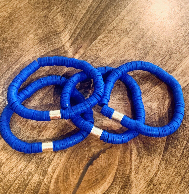 MM4 Pop Bracelet (Red, Royal Blue, Blue & White, Orange, Maroon, Leopard Multi)