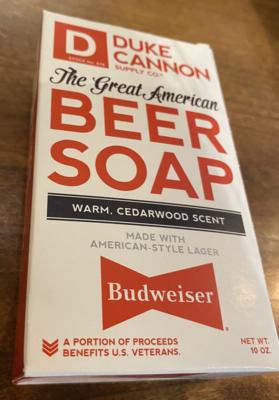 Great American Budweiser Beer Soap