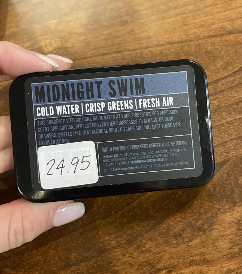 Solid Cologne Midnight Swim
