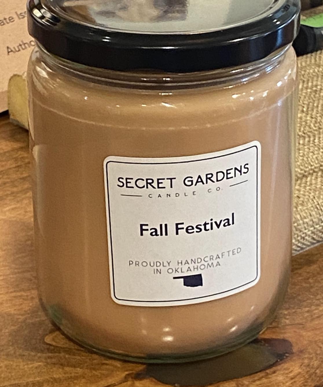 Fall Festival Candle